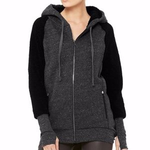 Alo Yoga Enhance Jacket Hoodie Womens Size S Small